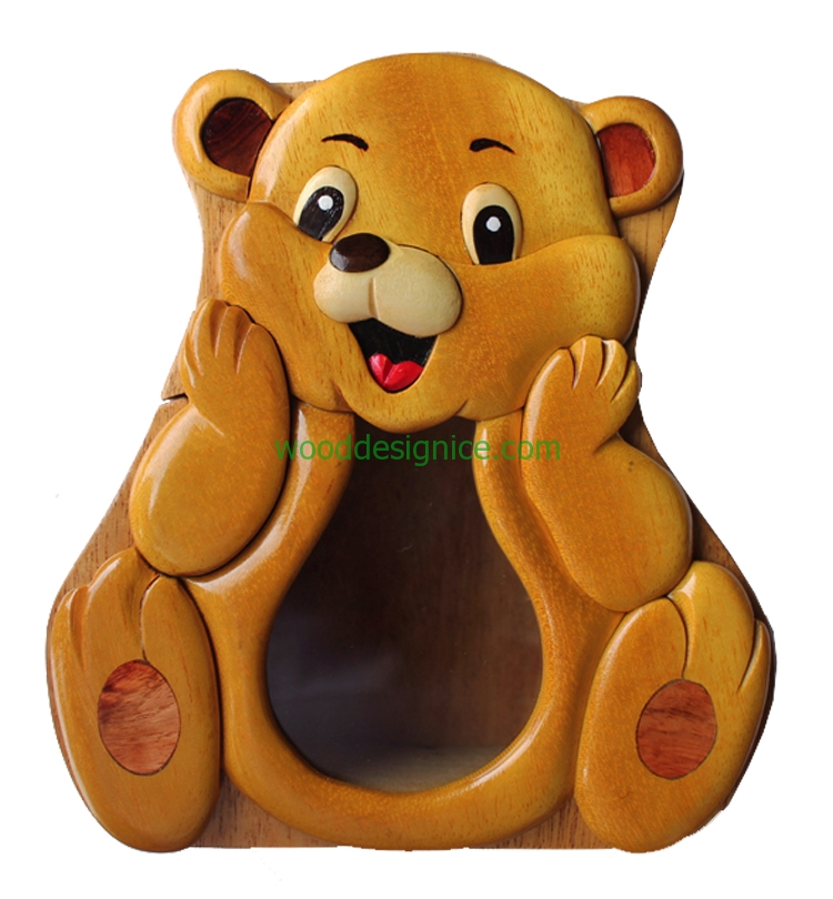 Wooden Money Box MON005