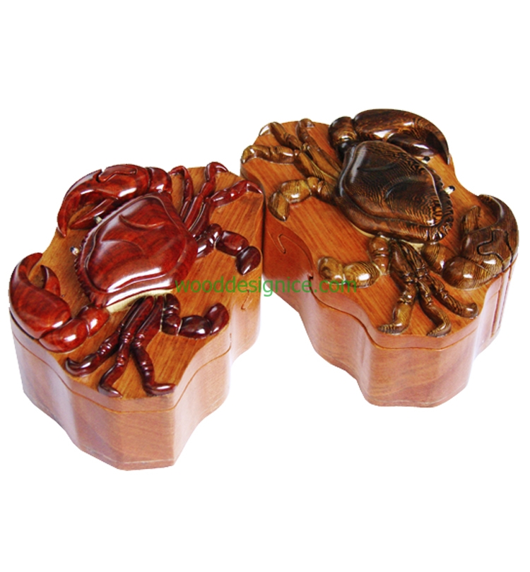 Wooden Puzzle Box PUZ023
