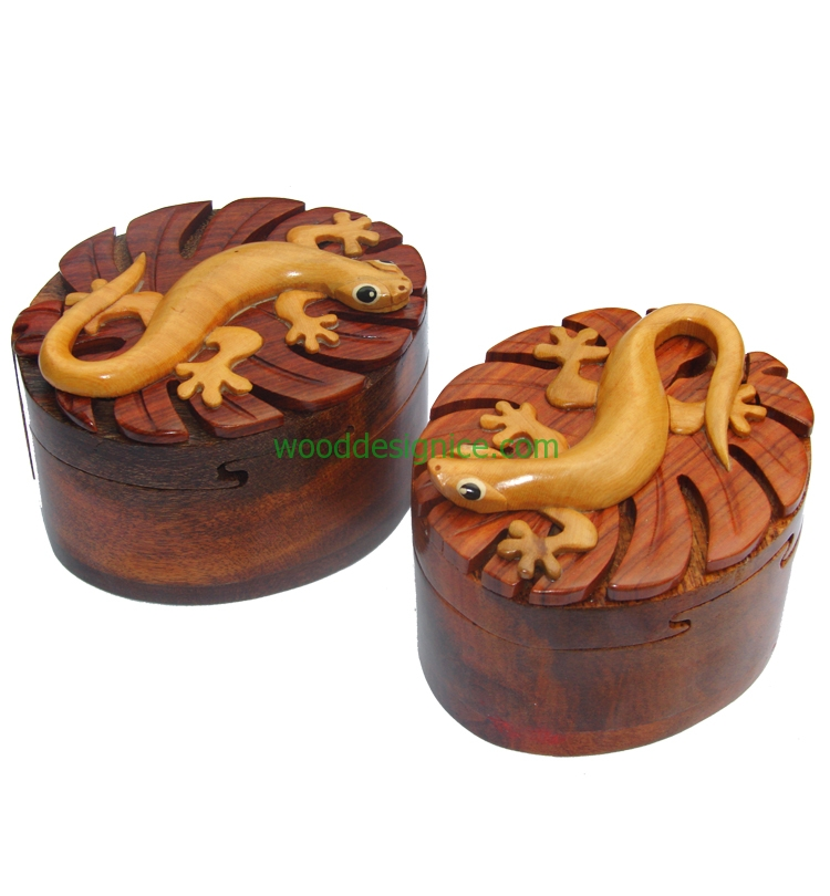 Wooden Puzzle Box PUZ026