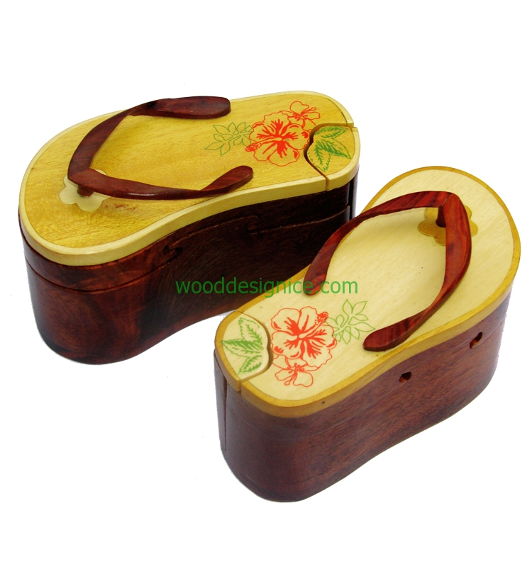 wooden Puzzle Box PUZ027