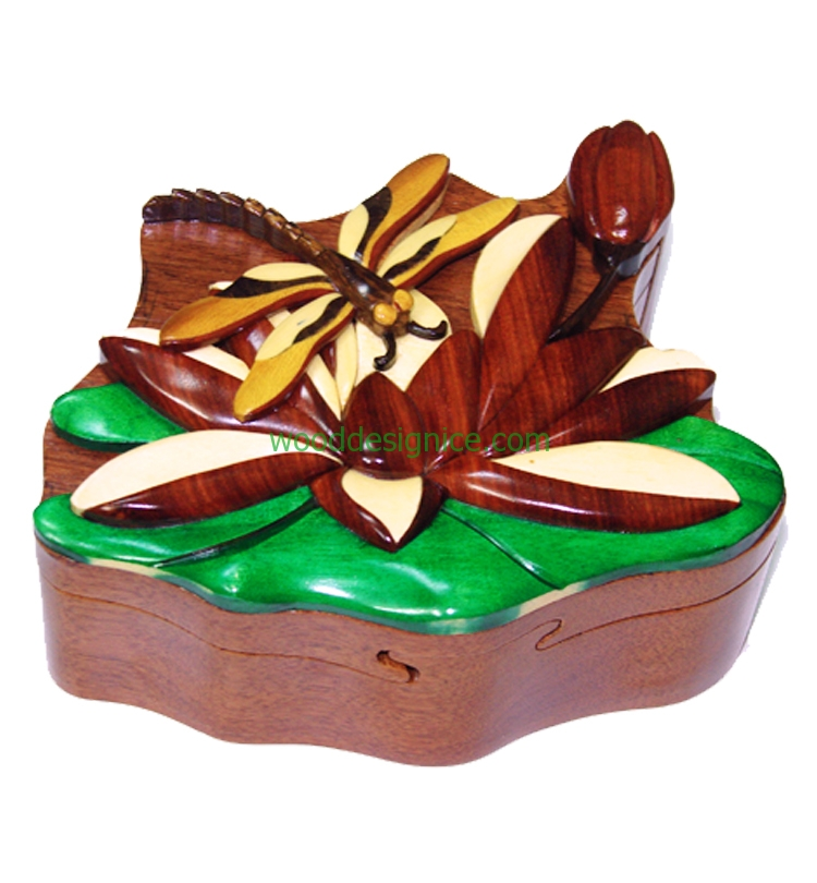 Wooden Puzzle Box PUZ031