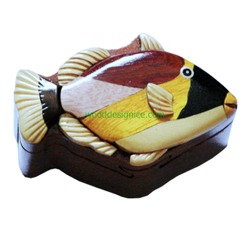 Wooden Jewelry Box  PUZ004