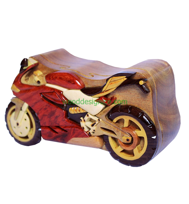 Wooden Puzzle Box PUZ041