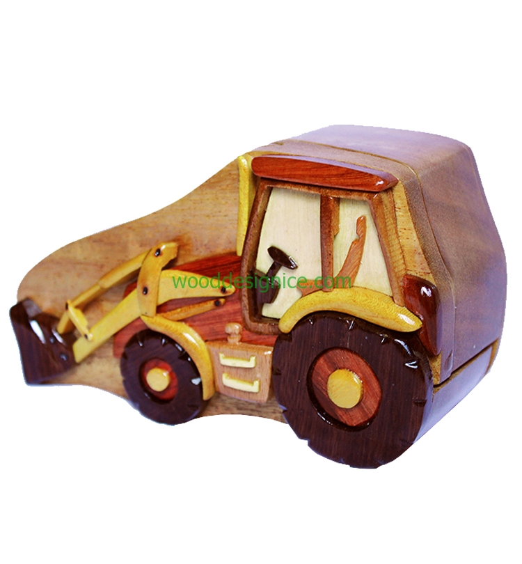 Wooden Puzzle Box PUZ042