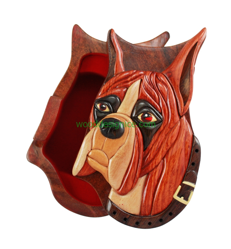 Wooden Puzzle Box PUZ048