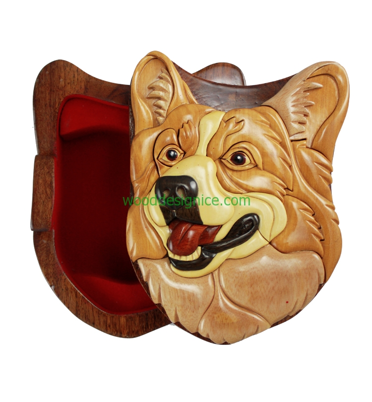 Wooden Puzzle Box PUZ050