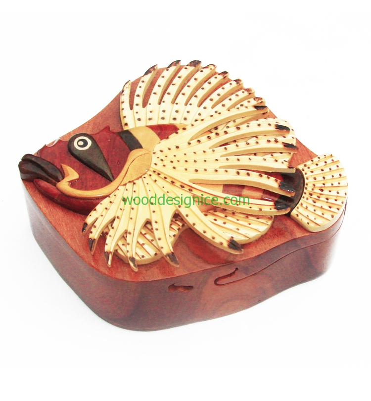 Wooden Jewelry Box PUZ009