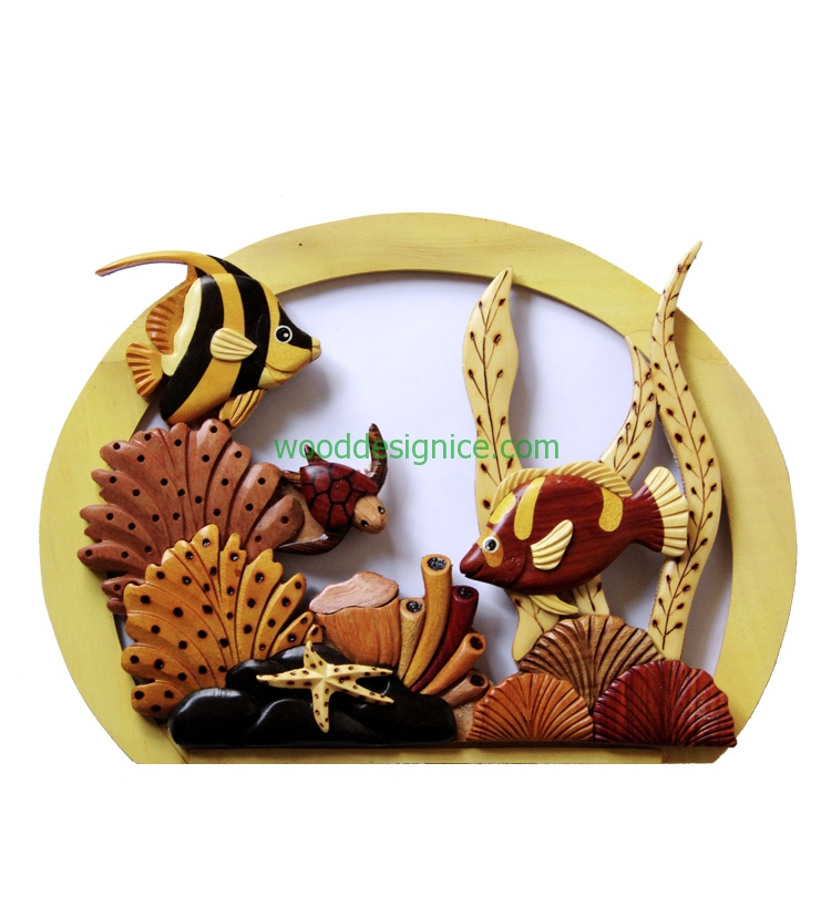 Wooden Wall Art WAL019