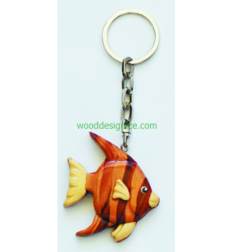 Wooden Keychain KEY026