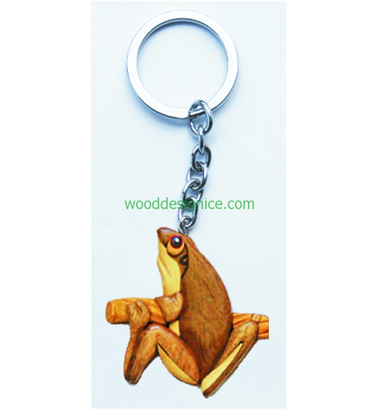 Wooden Keychain KEY028