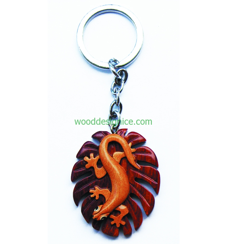 Wooden Keychain KEY032