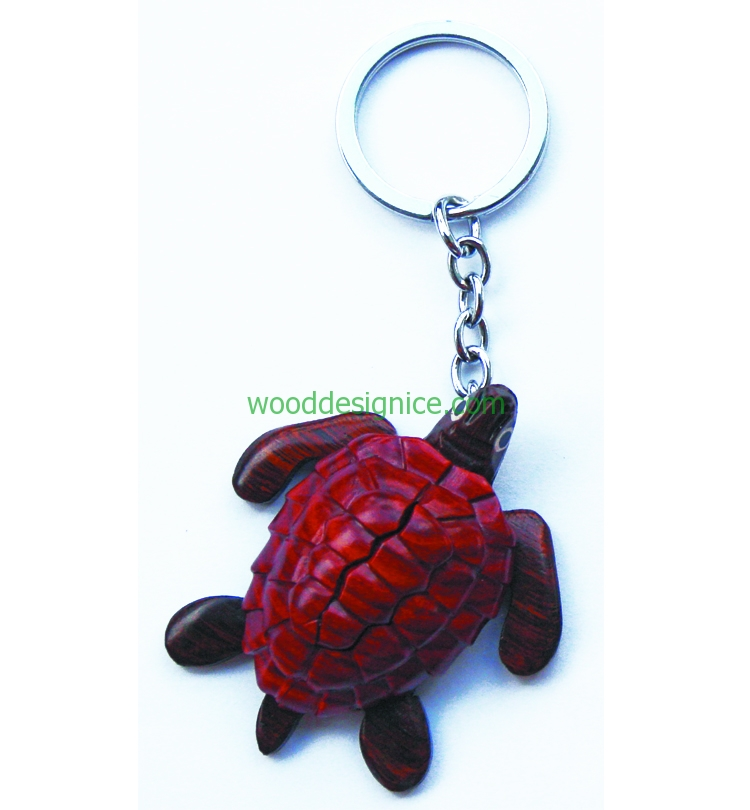 Wooden Keychain KEY034