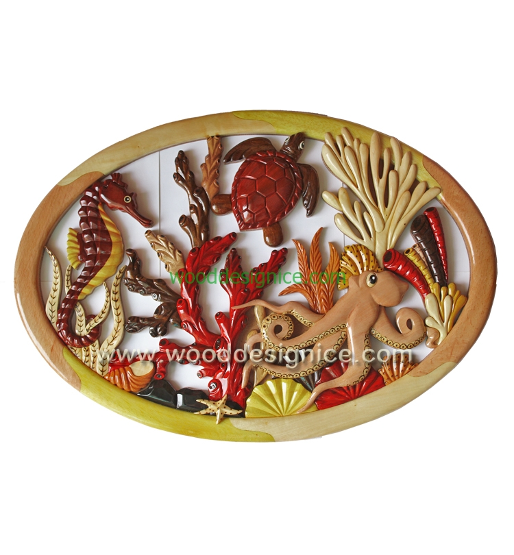 WOODEN WALL ART WAL030