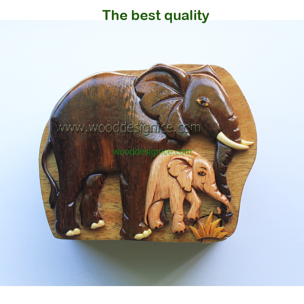 Wooden Puzzle Box PUZ052