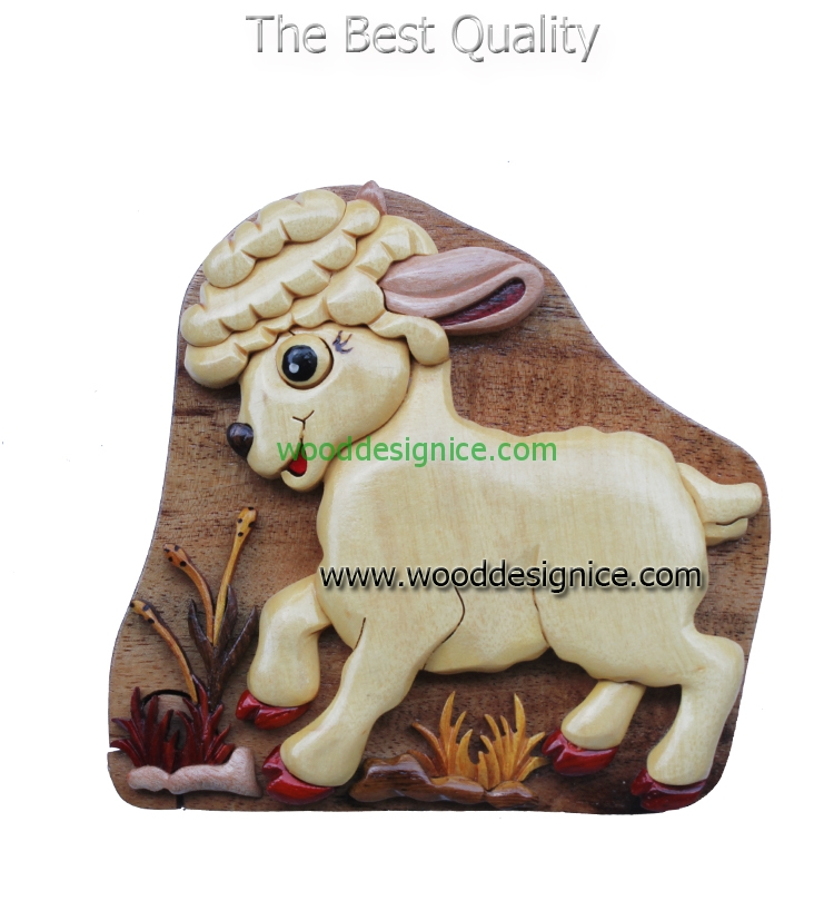 Wooden Puzzle Box PUZ071