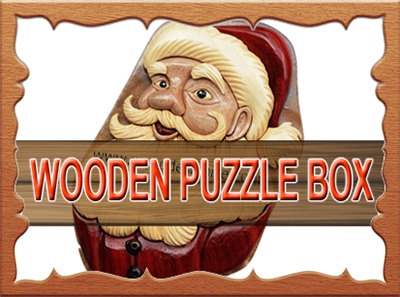 Wooden Puzzle Box PUZ046
