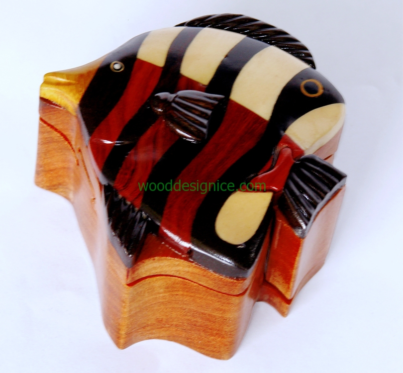 Wooden Jewelry Box PUZ001