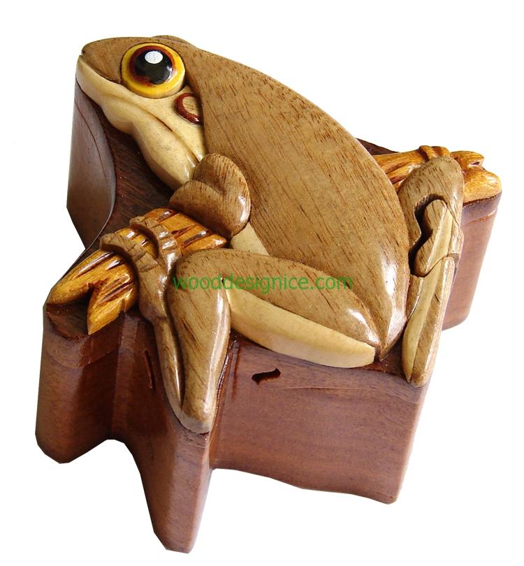 Wooden Jewelry Box  PUZ011
