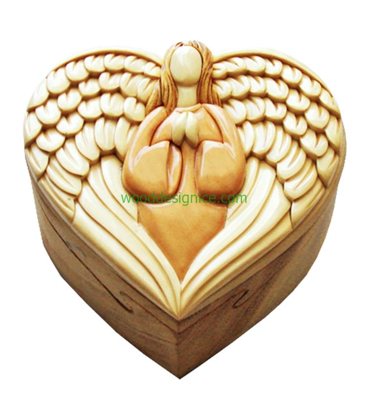 Wooden Puzzle Box PUZ018