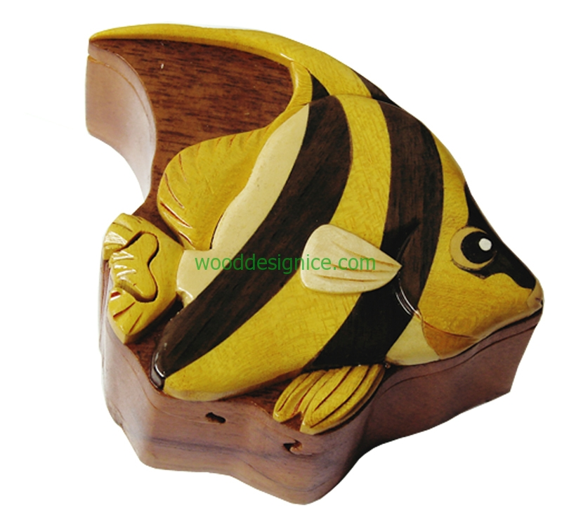 Wooden Jewelry Box PUZ002