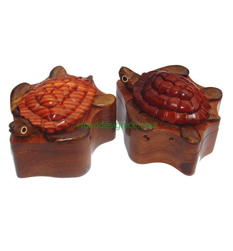 Wooden Puzzle box PUZ025