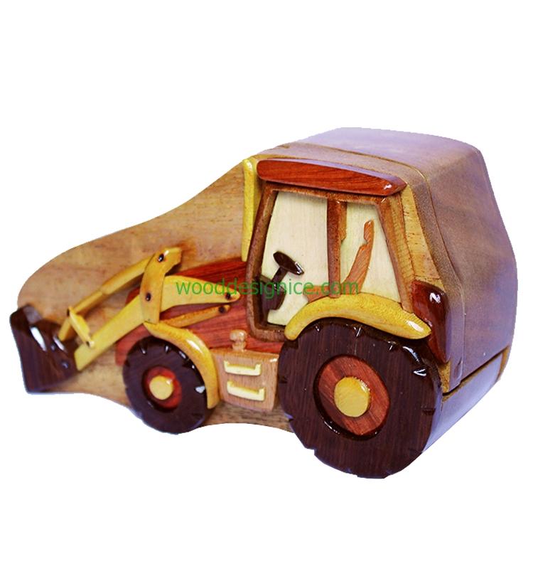 Wooden Puzzle Box PUZ042