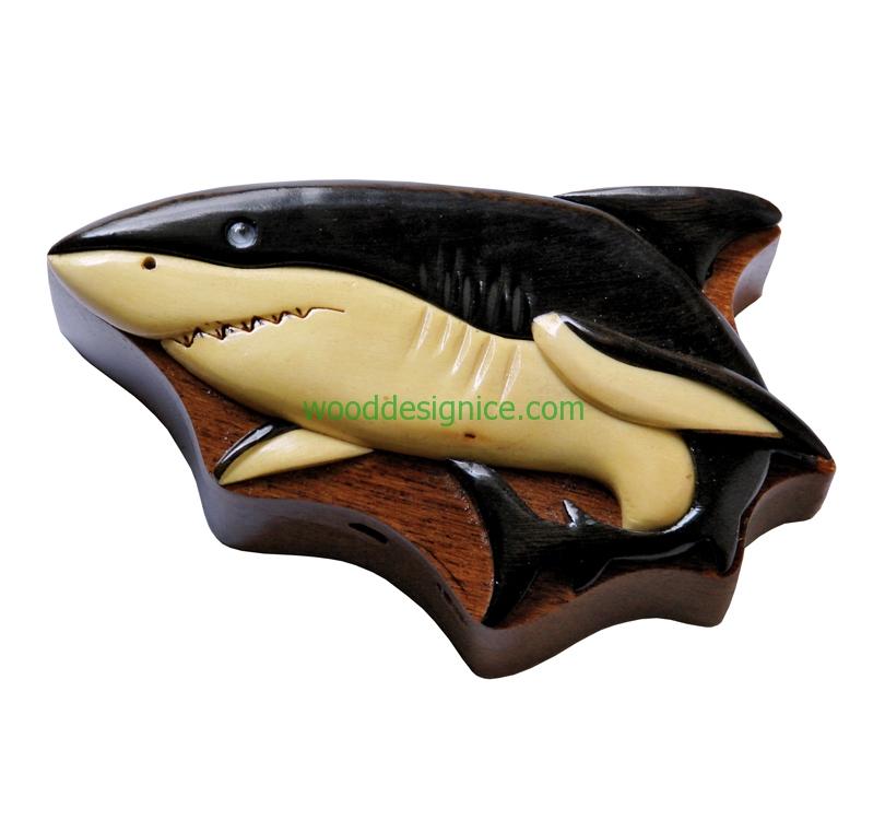 Wooden Jewelry Box PUZ006