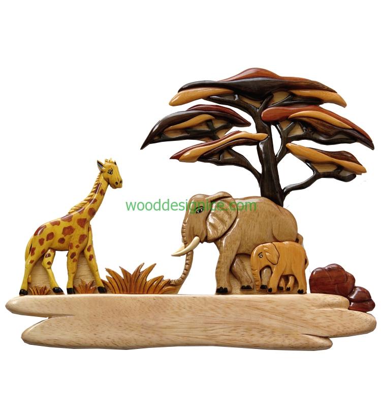 Wooden Wall Art WAL009