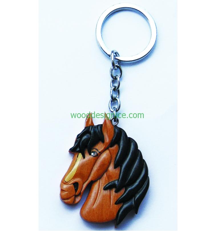 Wooden Keychain KEY003