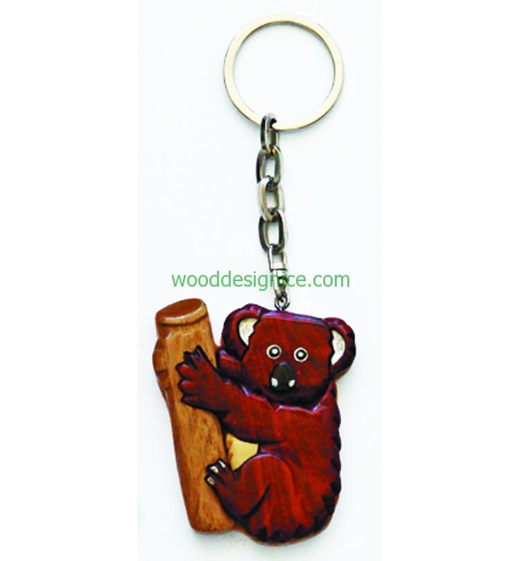Wooden Keychain 010