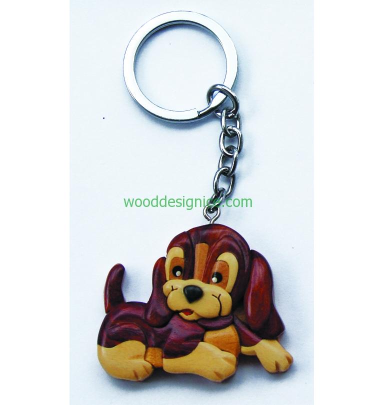 Wooden Keychain 011