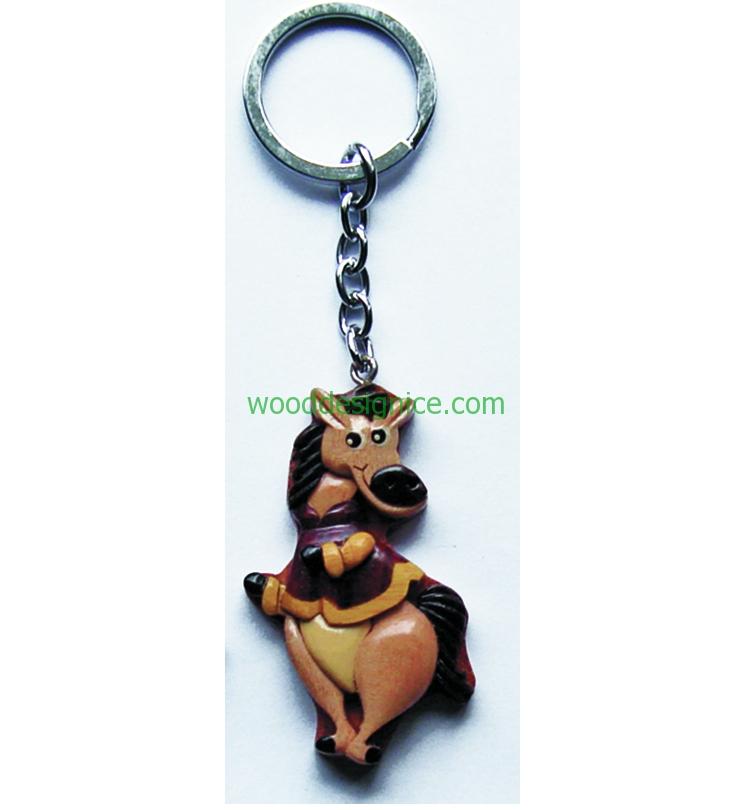 Wooden Keychain 016