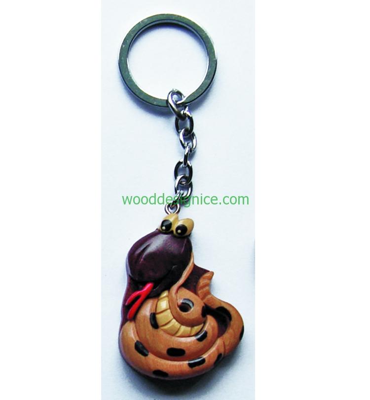 Wooden Keychain 018