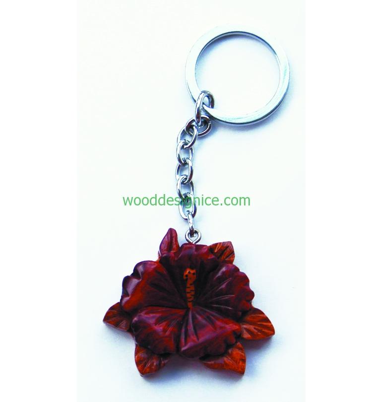 Wooden Keychain 020
