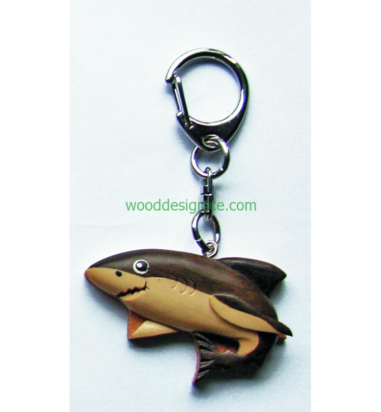 Wooden Keychain KEY027