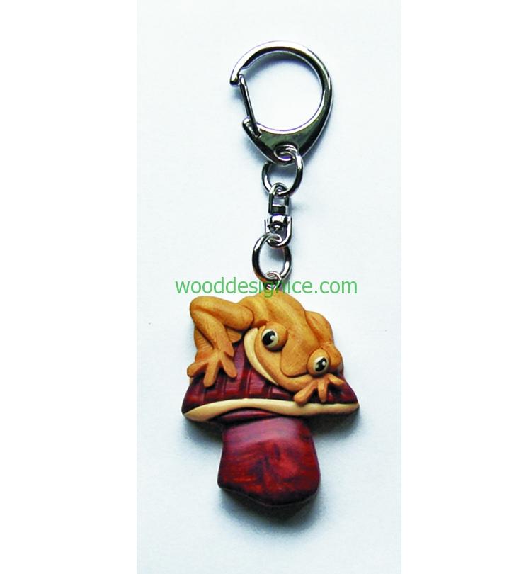 Wooden Keychain KEY029
