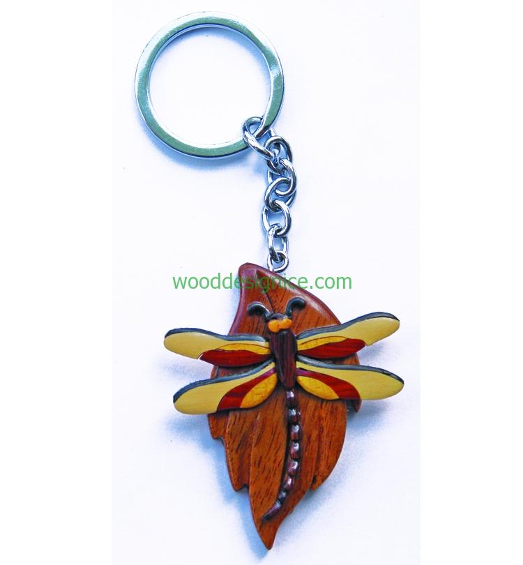 Wooden Keychain KEY031