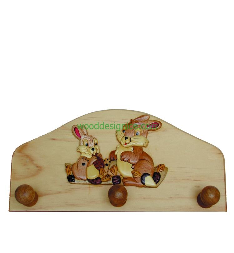 Wooden Hanger HAN002