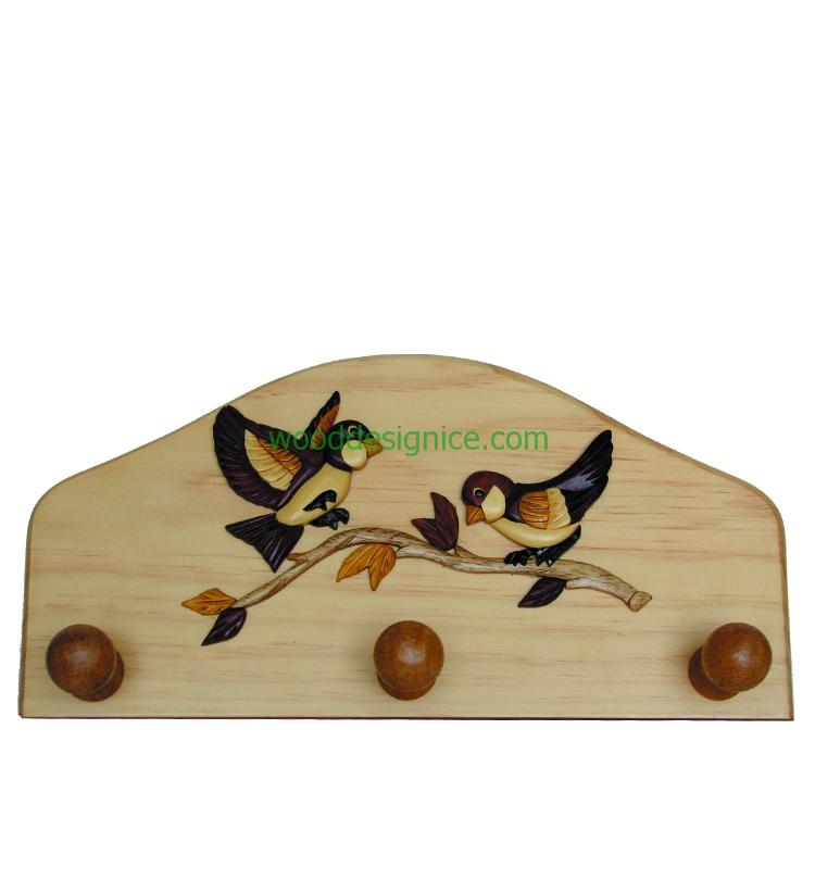 Wooden Hanger HAN005
